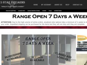 5 Star Firearms Promo Codes